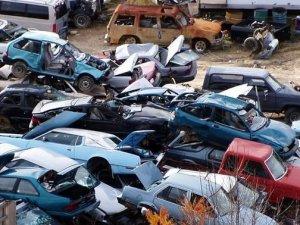'400 binden fazla hurda araç trafikten silindi'