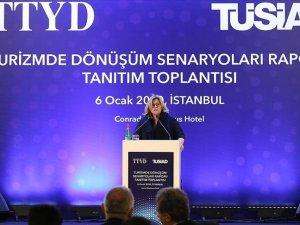 'Turizmde Dönüşüm Senaryoları Raporu' tanıtıldı