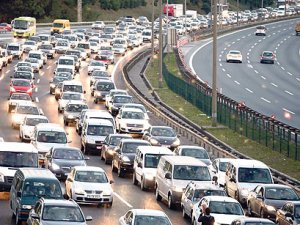 İstanbul'da, 21 ilin nüfusu kadar trafiğe kayıtlı araç bulunuyor