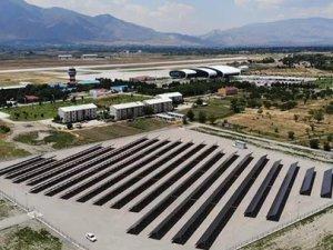 Erzincan Havalimanı GES, elektrik üretimine başladı