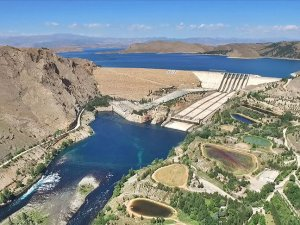 Keban Barajı'nda 9 yılın en yüksek enerji üretimi gerçekleştirildi