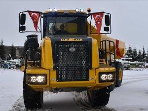 Kaya kamyonu 'Deve' seri üretime hazırlanıyor
