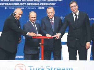 Türkiye'nin batısı Rus gazını doğrudan TürkAkım'dan almaya başladı