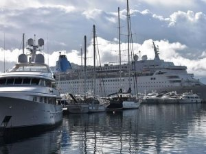 Turizmdeki yükseliş kruvaziyer turizmine de yansıdı