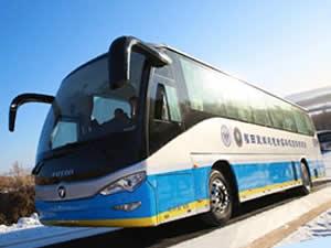 2022 Pekin Kış Olimpiyatları'nın hidrojenli otobüsleri hazır