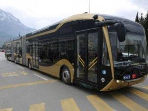 Manisa'da elektrikli otobüsler test edilmeye başlandı