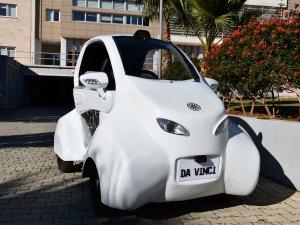 Tasarımı ve üretimi yerli elektrikli araç Da Vinci tanıtıldı