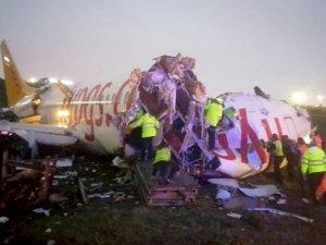 Sabiha Gökçen'de pistten çıkan uçak için ABD'den heyet geliyor