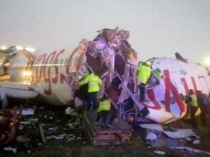 Uçak kazası mağdurlarına psikolojik destek verildi