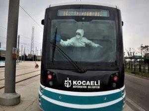 Kocaeli tramvay ve otobüslerinde nanoteknolojik temizlik