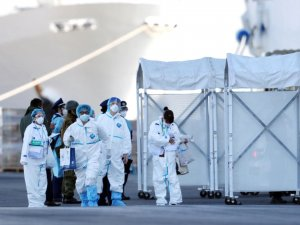 Japonya'da karantinadaki gemide 44 kişide daha 'Kovid-19' tespit edildi