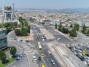 Bursa'da, akıllı kavşak uygulamaları trafik sıkışıklığını azalttı