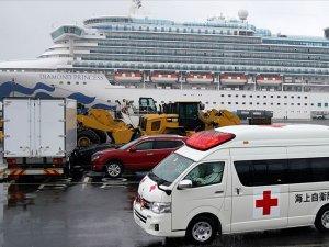 Japonya'da karantina gemisinde 70 kişide daha 'Kovid-19' tespit edildi