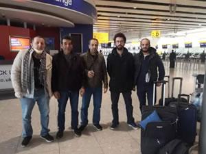 5 Türk gemici Londra'da ki Healthrow Havalimanı'nda mahsur kaldı