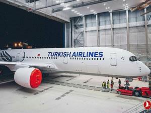 THY yeni uçağının üretimini tamamladı