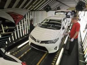 Toyota Türkiye'de ki üretimine yeniden başladı