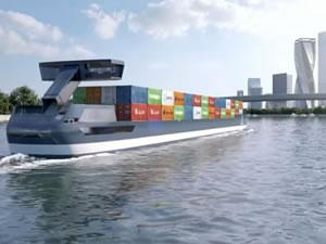 Elektrikli konteyner gemisinin üretimi askıya alındı