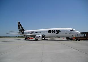 Sky Havayolları kış uçuşlarını durdurdu