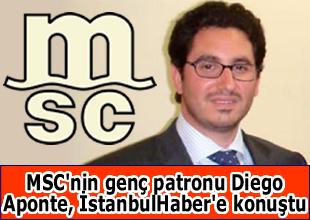 MSC'den Türkiye'ye milyar dolarlık yatırım