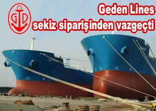Geden Lines, gemi siparişlerini iptal etti