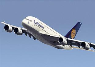 Lufthansa uçağı AHL'ye acil iniş yaptı