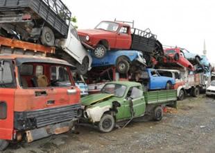 76 Bin hurda araç trafikten çekildi