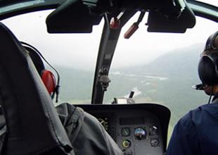İngiltere'de kadın helikopterde doğum yaptı