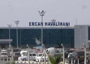 Ercan Havalimanı'nda sular durulmuyor