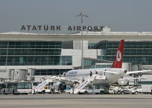 Atatürk Havalimanı'na hava muhalefeti