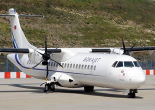 Borajet performans uçuşu gerçekleştirdi
