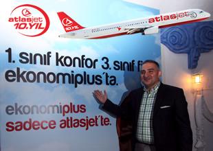 Atlasjet Ekonomi Plus uygulamasını tanıttı