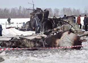 Rusya'da Yak-18T tipli uçak düştü: 4 ölü