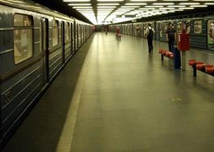 Metro seferlerini iptal ettiren alarm