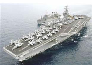 ABD uçak gemisi Lincoln, Antalya'dan ayrıldı