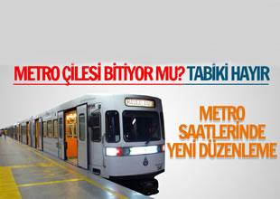 Havalimanı metro hattına yeni düzenleme