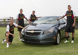 Chevrolet, Liverpool'un Sponsoru oldu