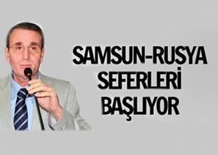 Samsun-Rusya uçak seferleri başlıyor