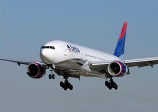 Delta yolcu uçağında gösterge arızası