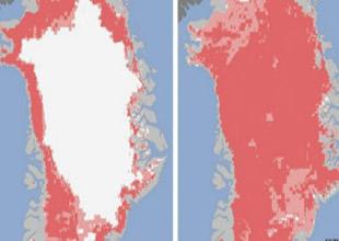 Grönland'da erime yüzde 97'ye ulaştı!