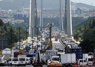 FSM köprüsüne  2,5 saatte ulaşıldı