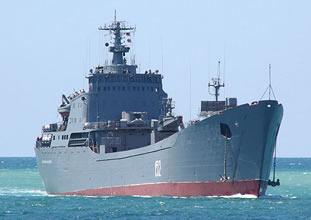 Rus savaş gemileri, Boğaz'dan geçti