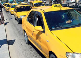 Taksiciler bu kadarına da pes dedirtti