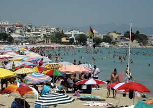 Samsun'da artık engellilerinde plajı olacak
