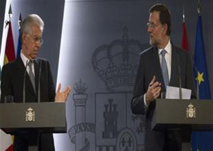 Rajoy ve Monti ekonomik krizi görüştü