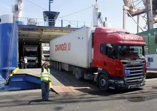 Ro- Ro seferleri ihracatın cankurtaranı
