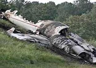 Sırbistan'ın başkentinde uçak düştü