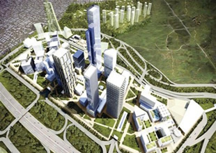 Ataşehir'deki Finans merkezi böyle olacak