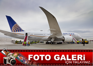 United'in ilk 787 Dreamliner'ı uçuşa hazır