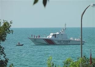 Sahil Güvenlik algarna avcılarının peşinde