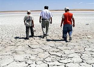 Tuz Gölü'nde hasat mevsimi başladı